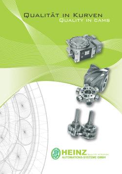 Schrittgetriebe, Pendelgetriebe, Kurvengetriebe, Globoidkurven, Trommelkurven, Broschuere